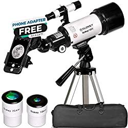 16 – 120x Teleskop